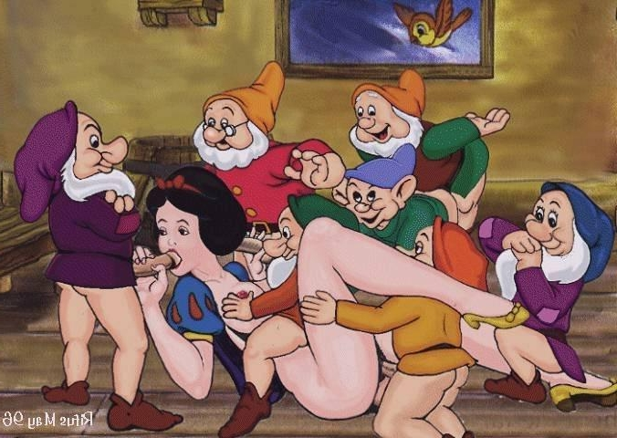 Are not Snow white and the seven dwarves porno