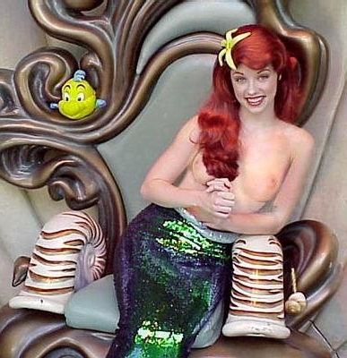 porn Mermaid cosplay