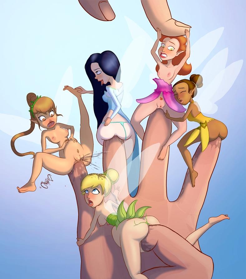 Порномультик феи