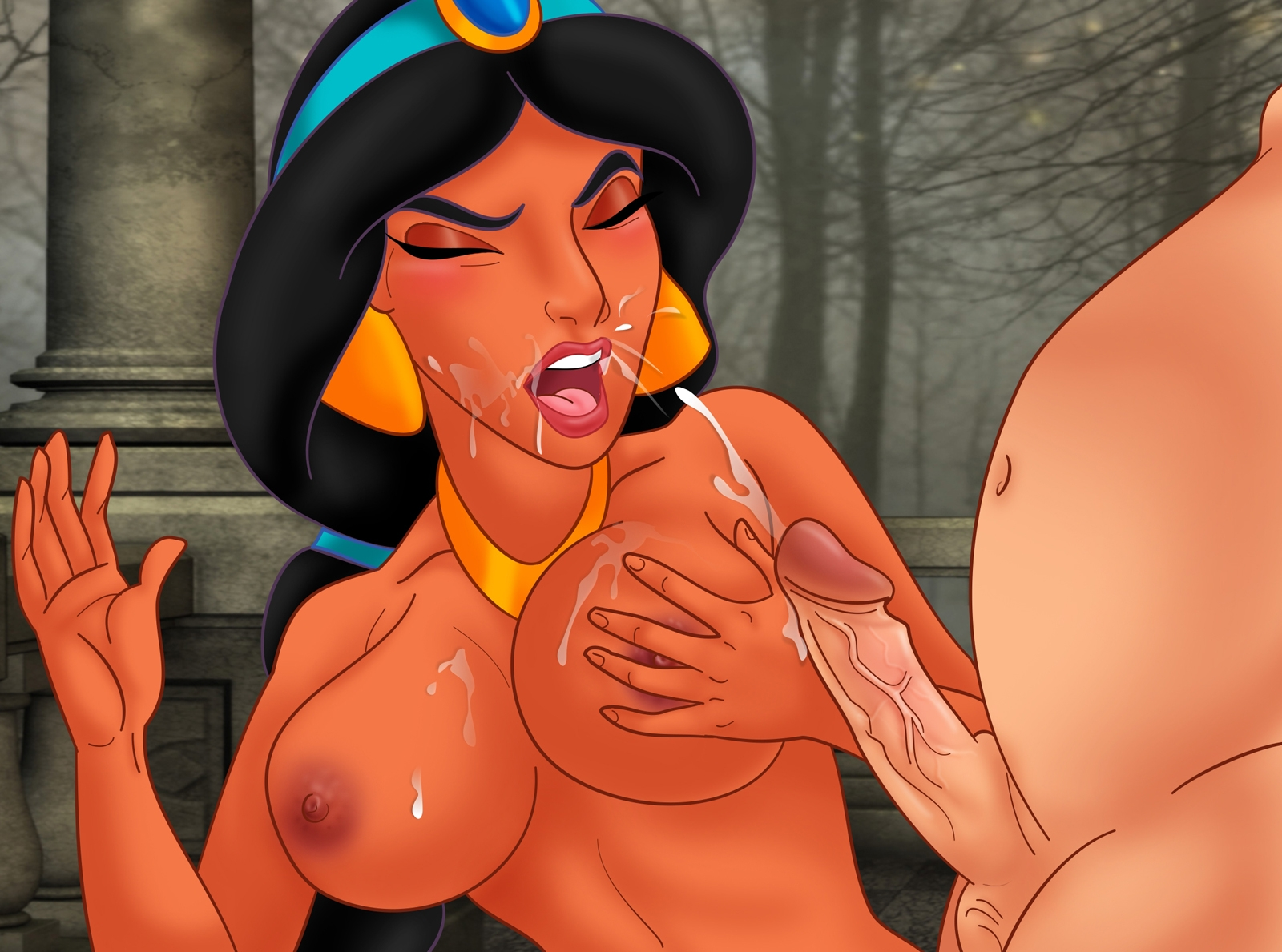 Jasmine into the disney princess porn disney porn-672