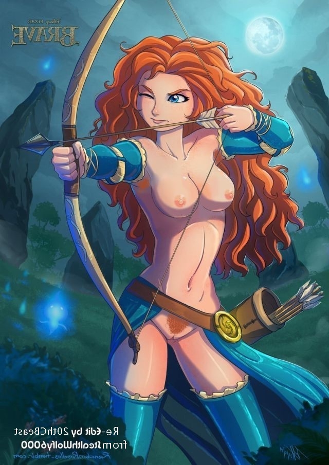 Brave naked animated
