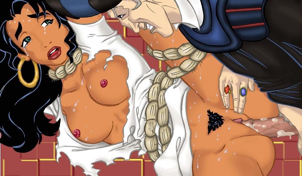 Порно горбун из нотр дама