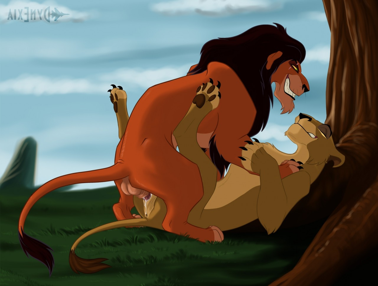 The lion king porn cute but