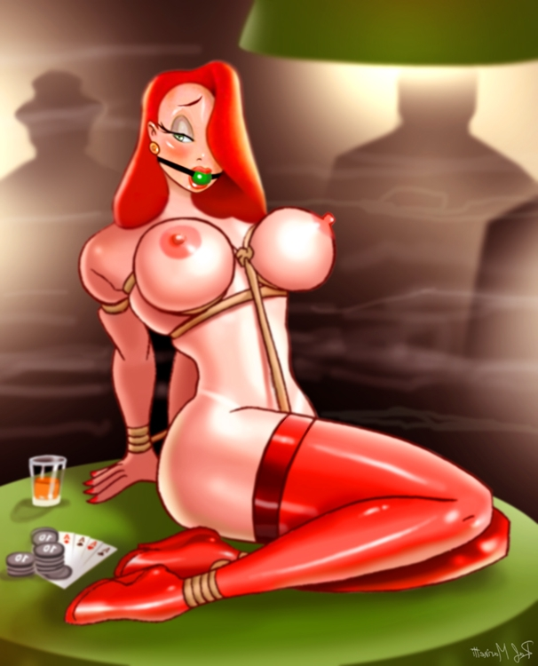 XXX Sketches : Jessica Rabbit Lara Croft Mary Jane Ms Buxley