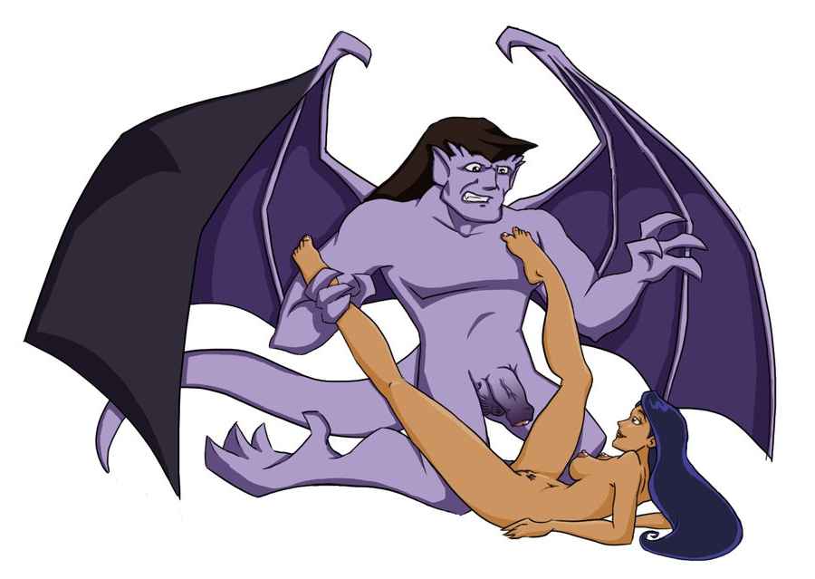 Disney gargoyles goliath and elisa tell more