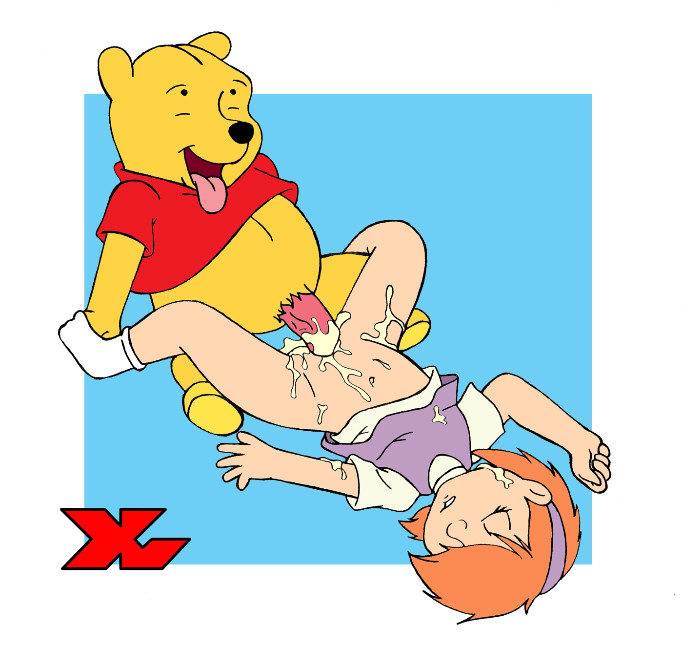 Hope pooh bear cartoon sex emo girl hot