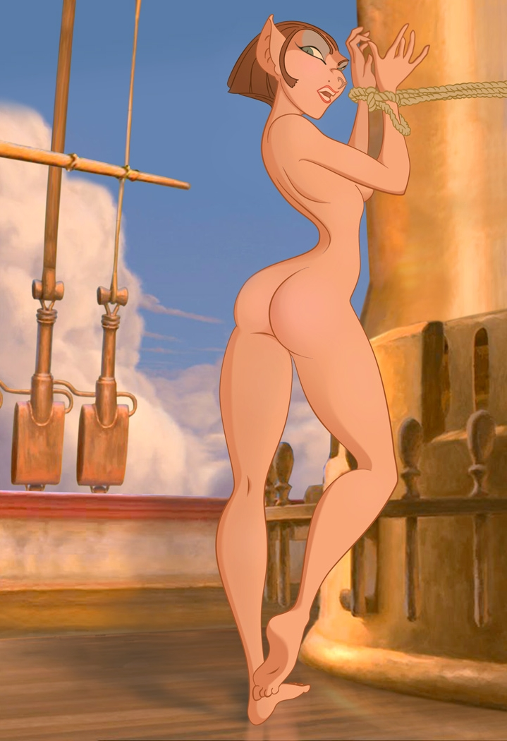 Cleared Treasure planet captain amelia porn