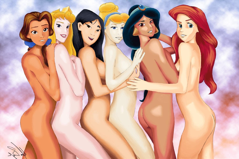 Секс диснеевских принцесс