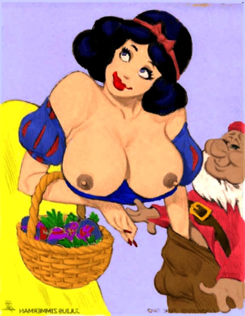Think, Snow white and the seven dwarves porno think