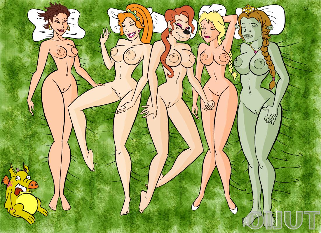 Animaciones del shrek porno
